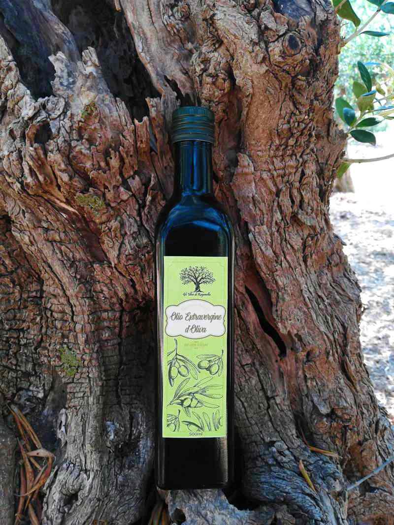 Bottiglia Olio Extravergine d'Oliva 500 ml